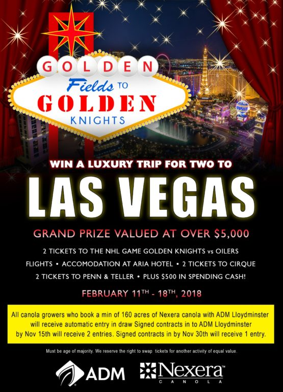 Win A Luxury Trip For Two to Las Vegas