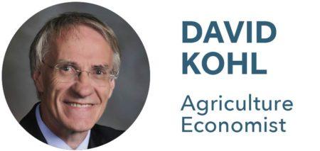 David Kohl, Agriculture Economist